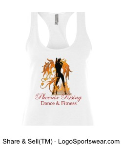 Womens Terry Racerback Tank Design Zoom